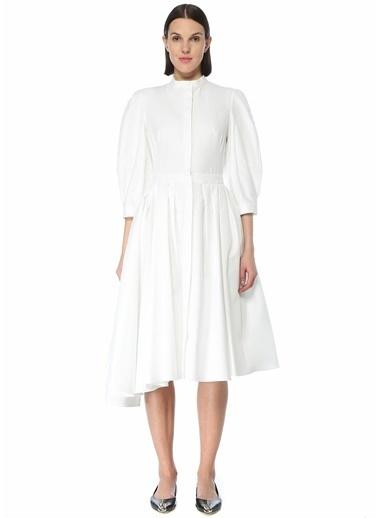 Alexander McQueen Elbise Beyaz